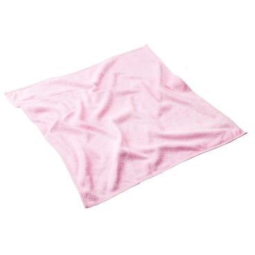 MEGA Clean Professional Stretch light Microfasertuch, 40 x 40 cm Farbe: rose
