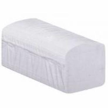 Papierhandtücher, 25 x 21 cm, 2-lagig, weiß 1 Palette = 32 Karton
