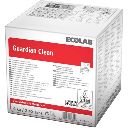 ECOLAB Guardian Clean Spülmaschinen-Tabs