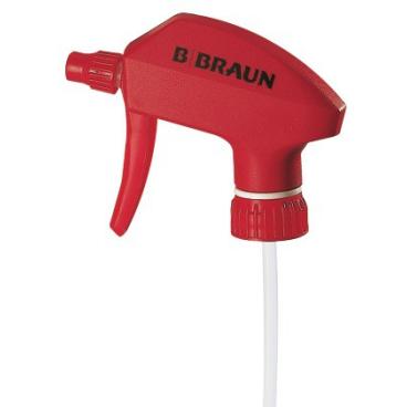 B. Braun Sprühkopf für B. Braun Desinfektionsmittel Farbe rot, für Meliseptol und Meliseptol rapid