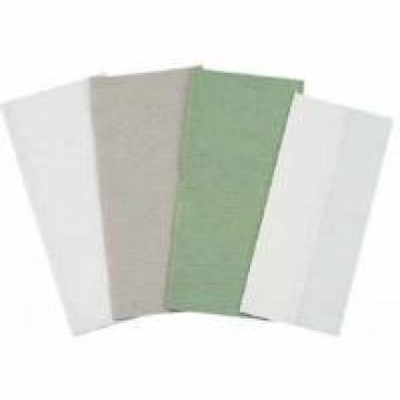 Papierhandtücher 25 x 50 cm, 1-lagig, grau 1 Palette = 32 Karton