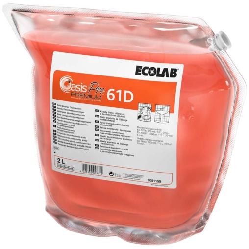 ECOLAB Oasis Pro 61D Premium Desinfektionsreiniger