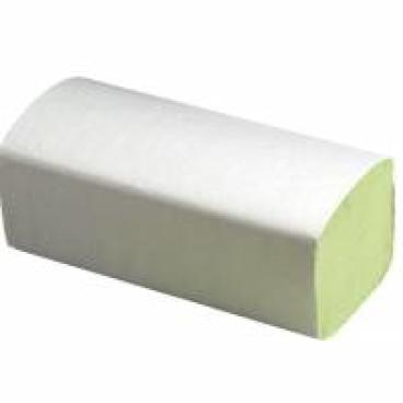 Papierhandtücher 25 x 23 cm, 1-lagig, grün ½ Palette = 16 Karton