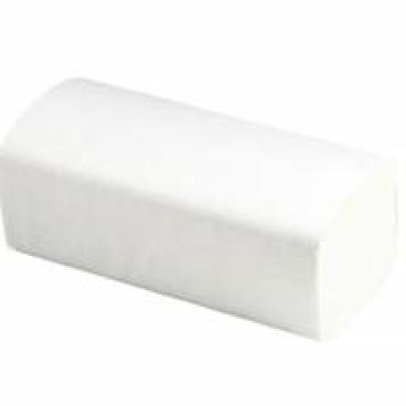 Papierhandtücher 25 x 23 cm, 1-lagig, hochweiß ½ Palette = 16 Karton
