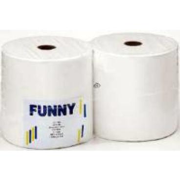Papierputztuch auf Rolle, 26x38 cm, 2-lg. hochweiß ½ Palette = 24 Pakete