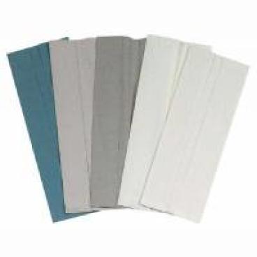 Papierhandtücher, 24,5 x 30,5 cm, 2-lagig, weißlich ½ Palette = 16 Karton