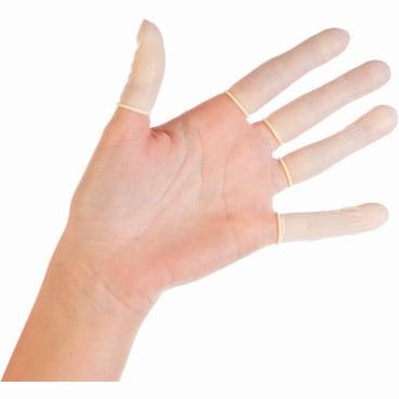 Hygostar® Latex Fingerlinge, puderfrei