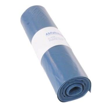 DEISS LDPE -  Abfallsack  70 Liter, blau, Typ 60
