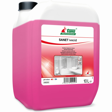 TANA SANET ivecid Sanitärreiniger 10 l - Kanister