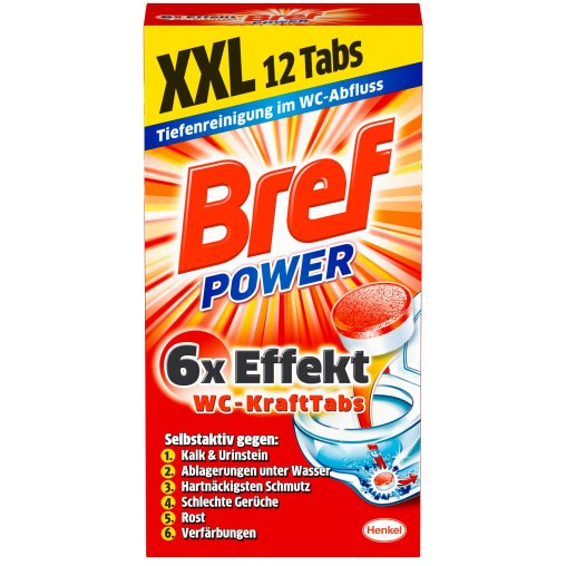Bref Power WC-Kraft Tabs