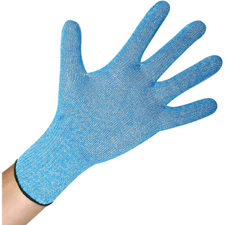 c504e56b8795e0 Hygostar® Stechschutz Handschuhe LEBENSMITTEL BLUE 1 Packung = 6 Stück,  Größe: M Spacer