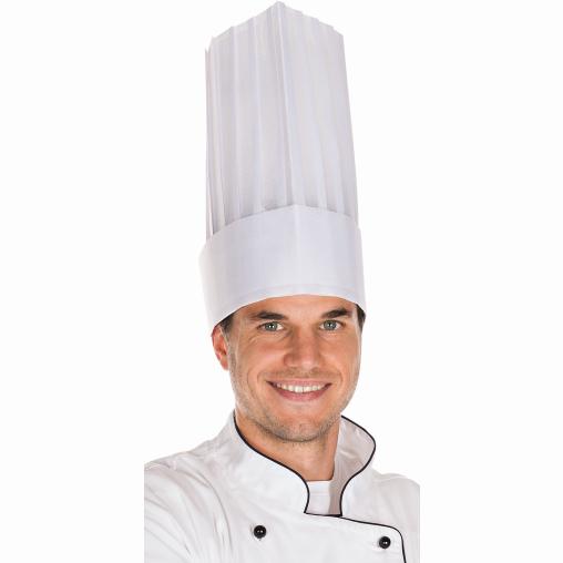 HYGOSTAR® Le Grand Chef Kochmütze, offenliegend