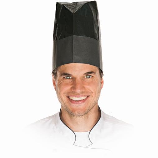 HYGOSTAR® Excellent Black Style Kochmütze