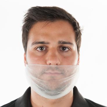 HYGOSTAR® Bartschutz aus Nylon mit Gummizug