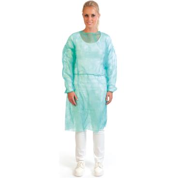 Hygostar® PP-Vlies Schutzkittel mit Bündchen