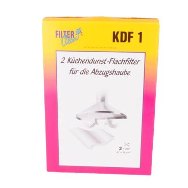 Küchendunst-Flachfilter KDF 1