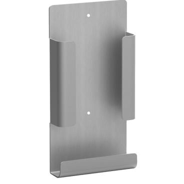 Hygienebeutelhalter für die Damenhygiene Aluminium, mattsilber eloxiert