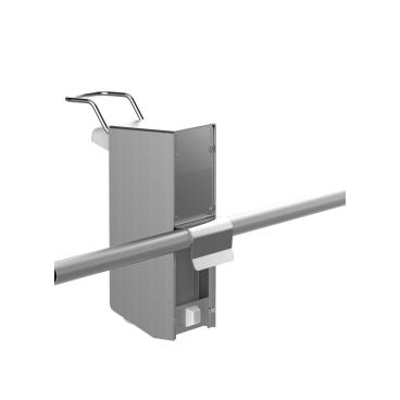 UNIversal-Spender für Rohrrahmen Ø 22 mm 500 ml, kurzer Bedienungshebel