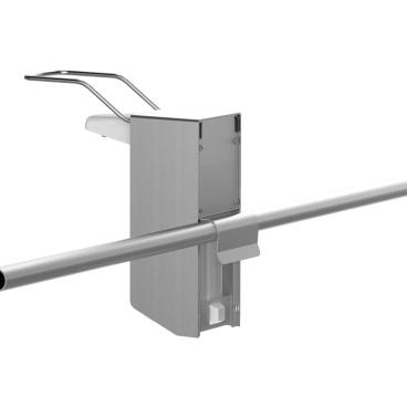 UNIversal-Spender für Rohrrahmen Ø 22 mm 500 ml, langer Bedienungshebel