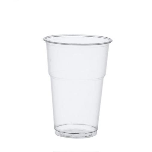 Papstar Pure Kaltgetränkebecher, 0,4 Liter