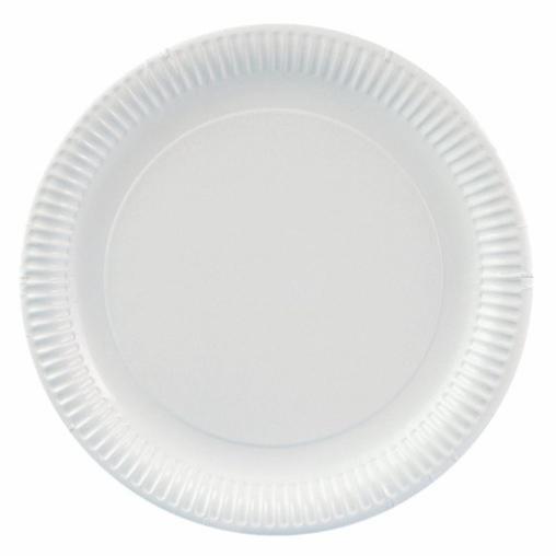 Papstar Pure Teller rund, weiß