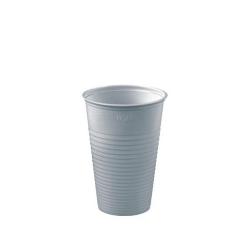 Papstar Trinkbecher 0,2 Liter, PS, weiß