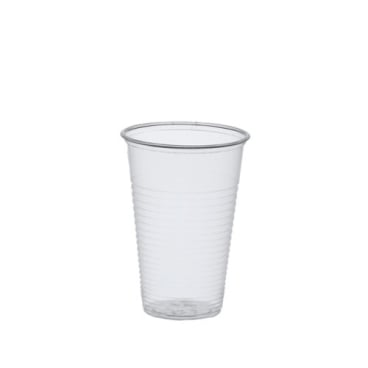 Papstar Trinkbecher 0,2 Liter, PS, klar