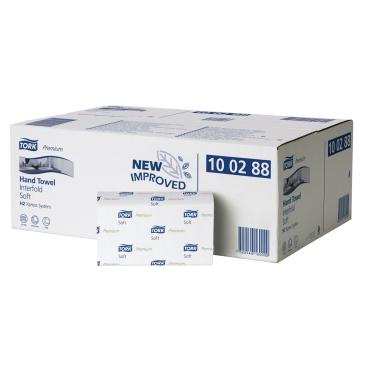 Tork Xpress® Papierhandtücher H2, 2-lagig 1 Paket = 21 Bündel x 110 = 2.310 Tücher