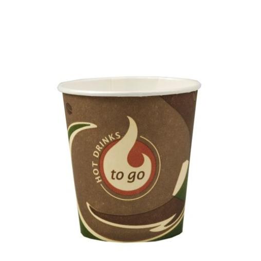 Papstar To Go Trinkbecher Pappe, 0,4 Liter