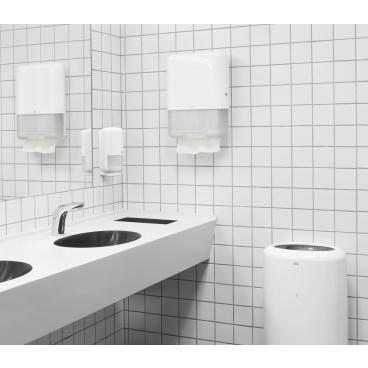 Tork Papierhandtücher H3 Advanced, 2-lagig 1 Paket = 20 Bündel x 120 = 2.400 Tücher, weiß