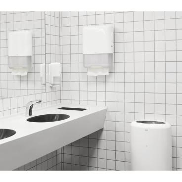 Tork Papierhandtücher H3 Advanced, 25 x 41 cm, 2-lagig 1 Karton = 20 Bündel x 84 = 1.680 Tücher, hochweiß