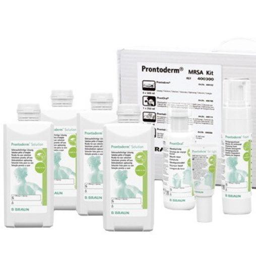 B. Braun Prontoderm® MRSA Kit Reinigungsset