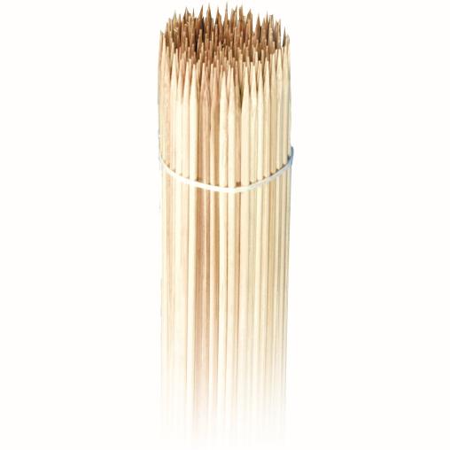 NATURESTAR® Bio Holz-Spieße mit Profi-Langspitze
