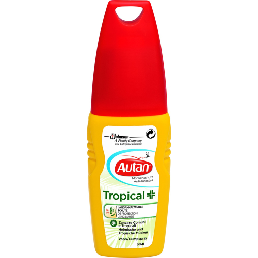 Autan® Tropical Mückenschutz Pumpspray
