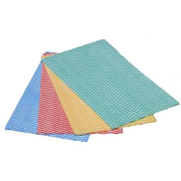 Vileda GP Light, Tuch zur einmaligen Verwendung Farbe: rot, 1 Packung = 50 Stück