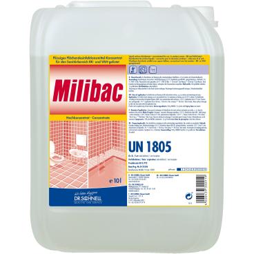 Dr. Schnell MILIBAC Sanitärreiniger 10 l - Kanister