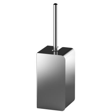 WC-Bürstenhalter für die Wandmontage inklusive WC-Bürste mit Edelstahlgriff