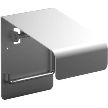 WC-Rollenhalter Aluminium, mattsilber eloxiert