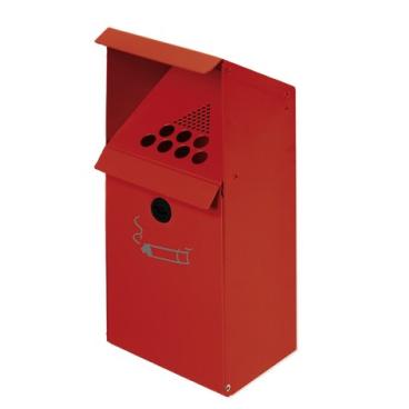 VAR Wandascher WH 41 mit Standfuß Farbe: rot