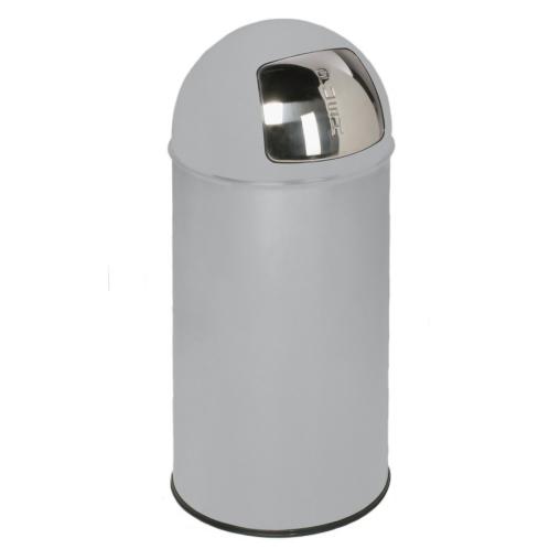 VAR Abfallsammler D 35 mit Einwurfklappe