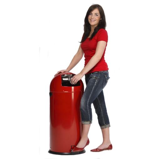 VAR Abfallsammler 22 Liter mit Pedal