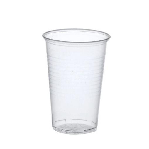 Papstar Bierbecher 0,5 Liter, PP, transparent