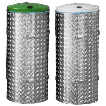 VAR Kompakt-Abfallsammler 120 Liter