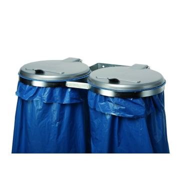 VAR Doppel Abfallsammler stationär