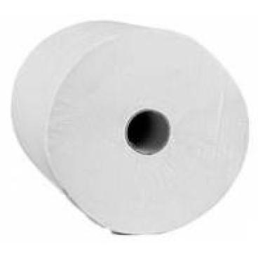 Rollenhandtuchpapier, 2-lagig 1 Paket = 6 Rollen à 130 Meter in hochweiß