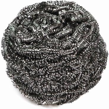 HYGOSTAR® Edelstahl-Spiral-Topfreiniger silber