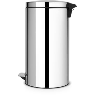 Brabantia Treteimer, 45 Liter Brilliant Steel