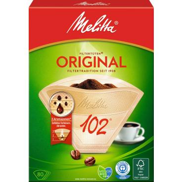Melitta® Filtertüten 102/80 AROMA