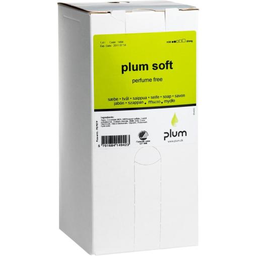 Plum Soft Cremeseife