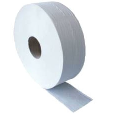Jumbo Toilettenpapier, 2-lagig, 70 % weiß